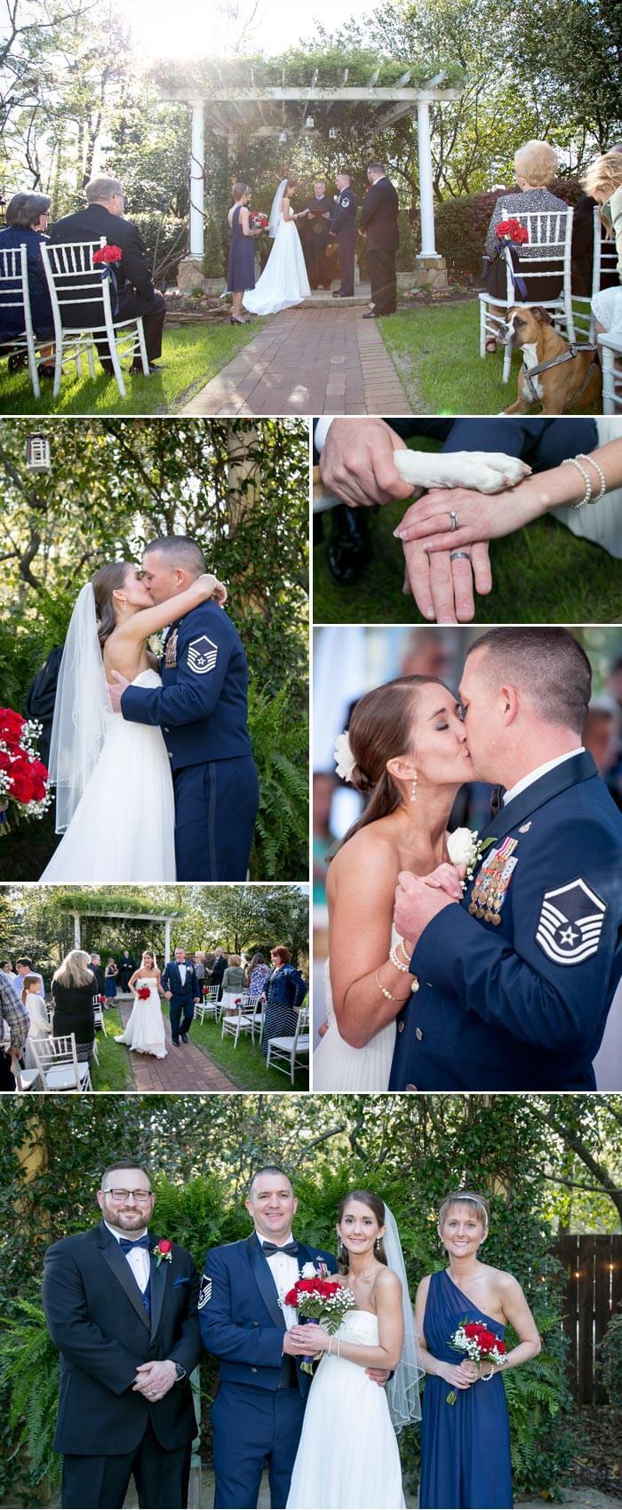 Heiraten im Garten