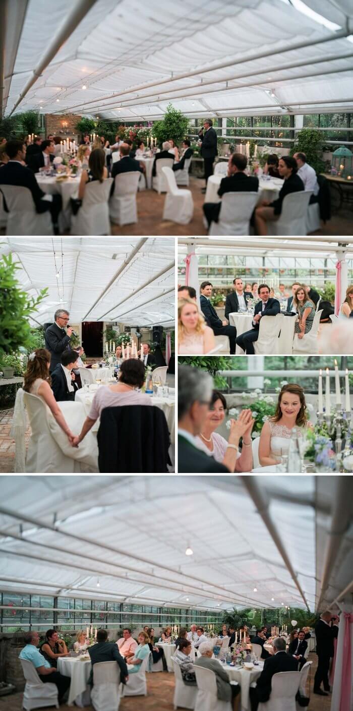 Hochzeitslocation Gewächshaus