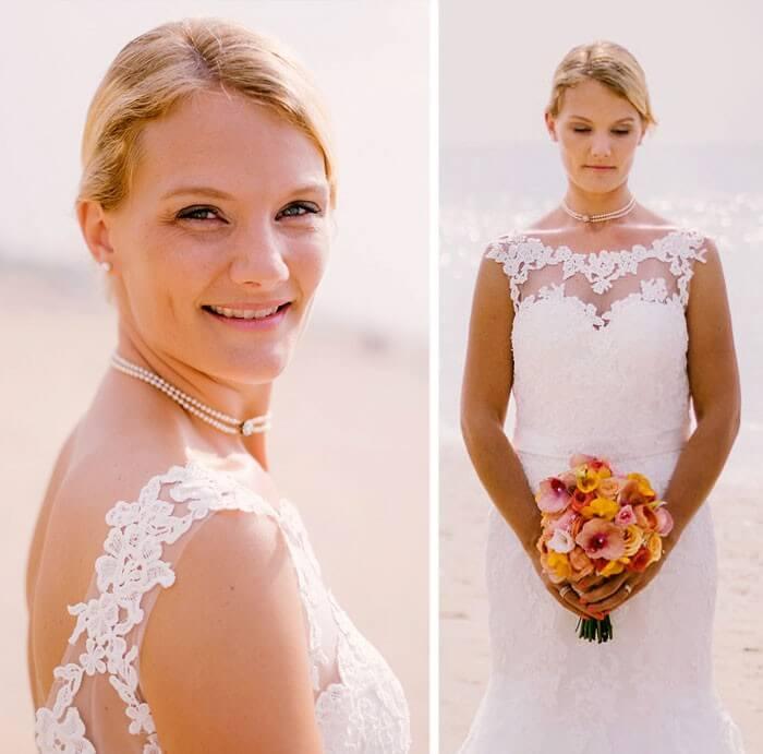 Heiraten am Strand Holland