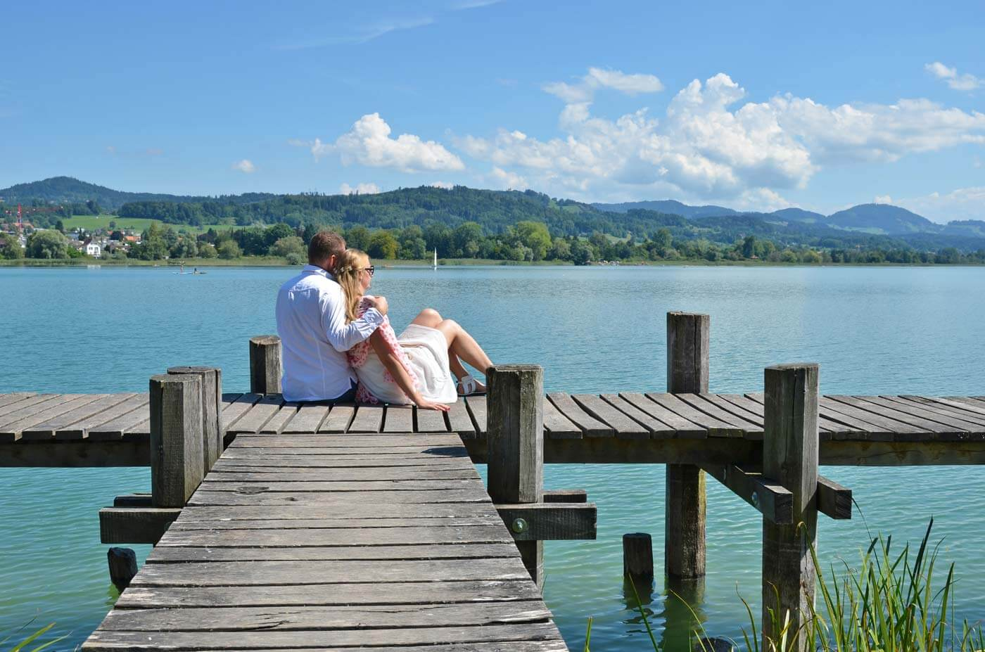 Hochzeit am See Schweiz