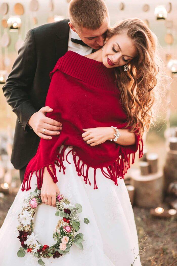 Brautkleid Herbst