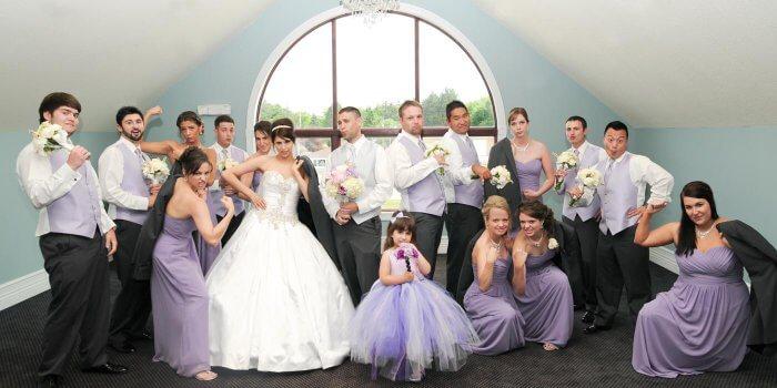 Hochzeit Flieder
