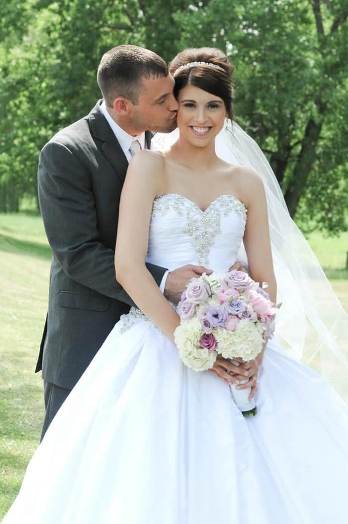Hochzeitsfarbe Flieder