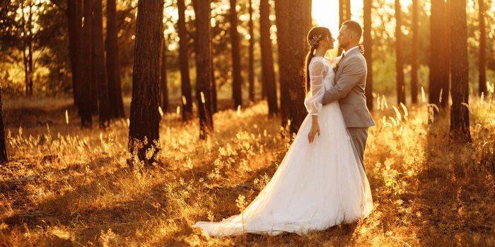 Hochzeit im Oktober