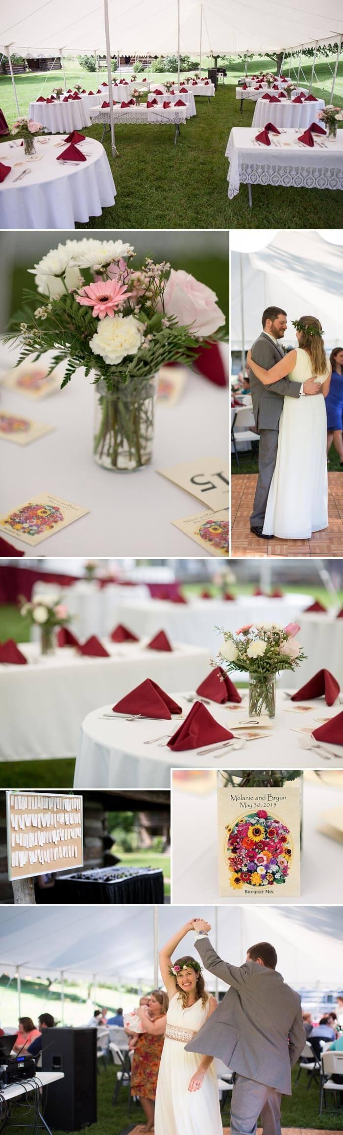 Park-Hochzeit
