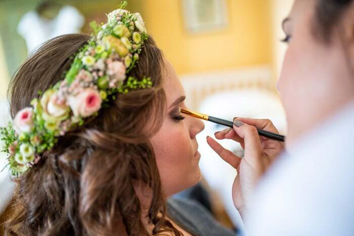 Braut schminken