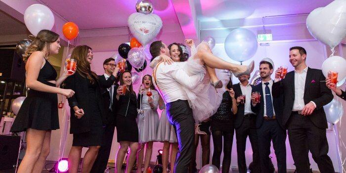 Hochzeit Party