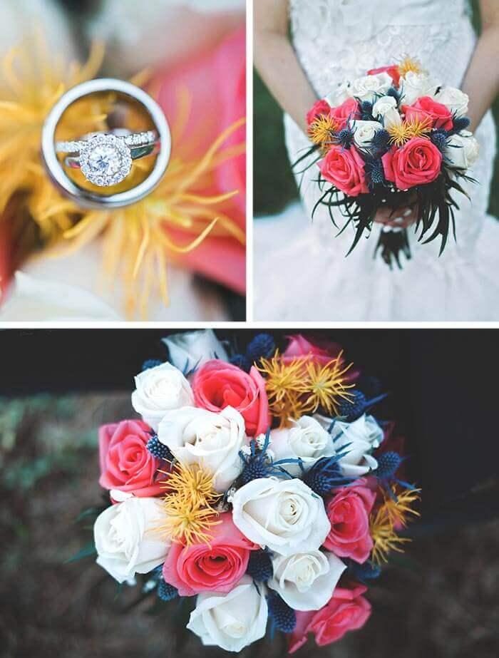 Hochzeit Rosen Strauß