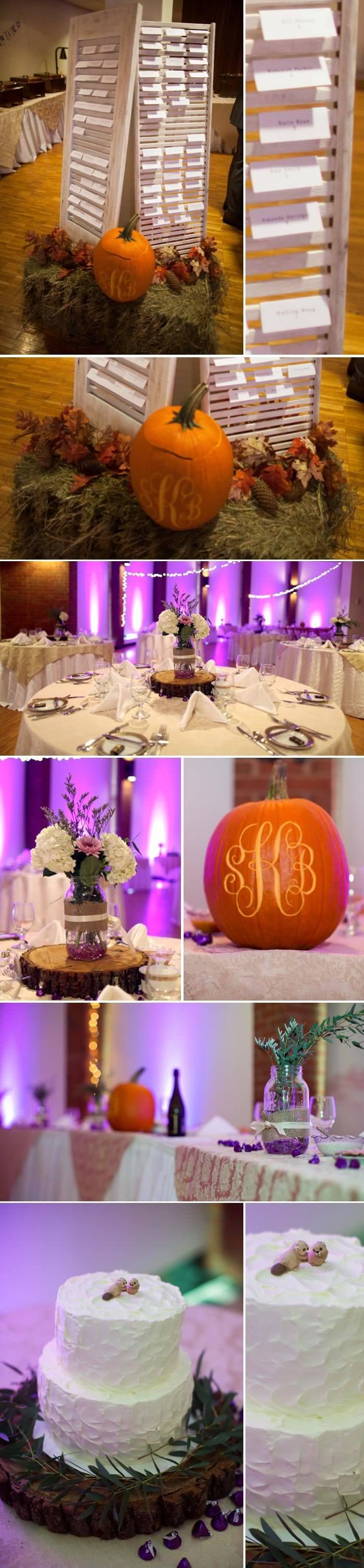 Tischdeko Hochzeit Herbst