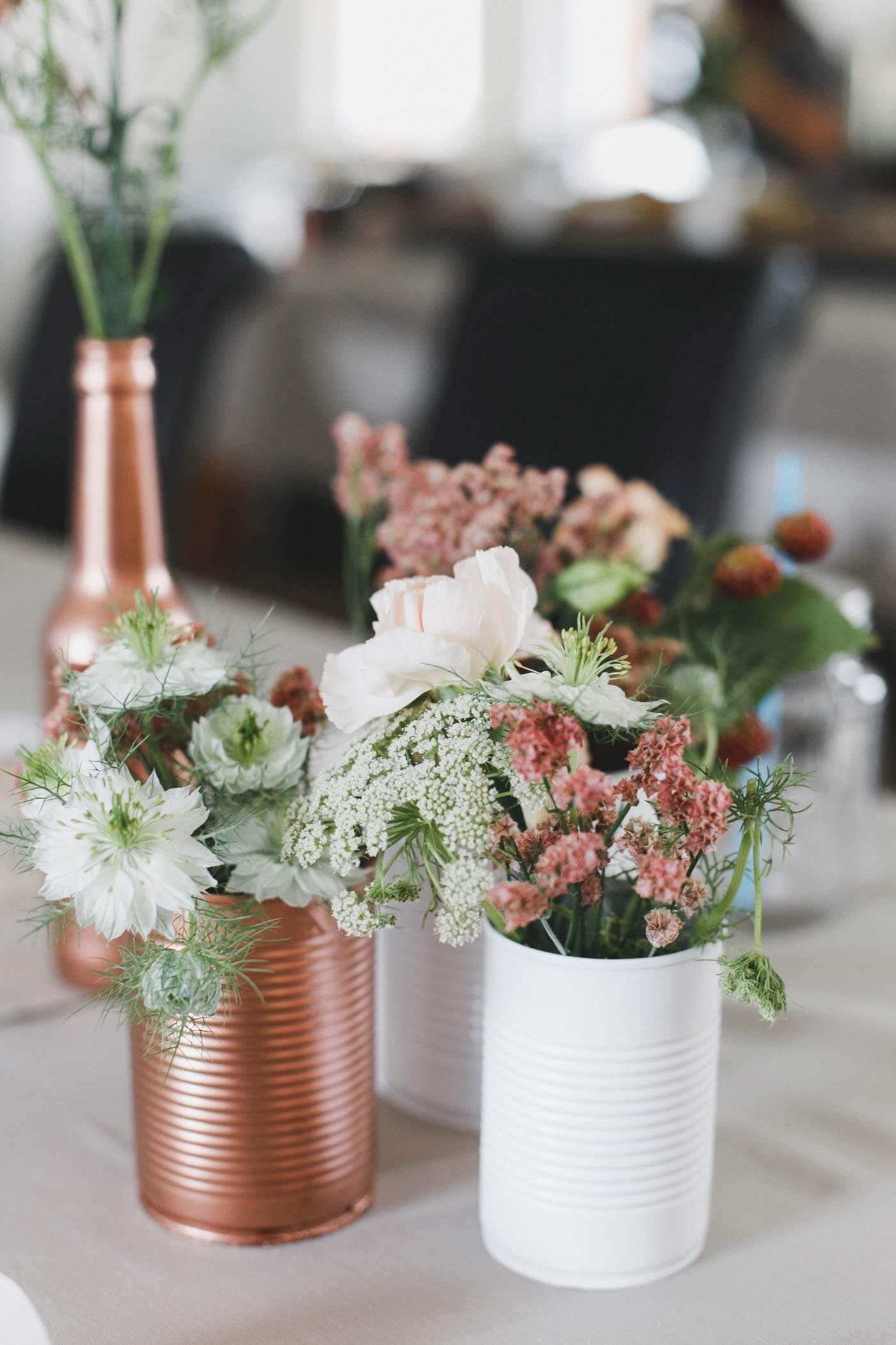 Hochzeitsdeko Rosegold