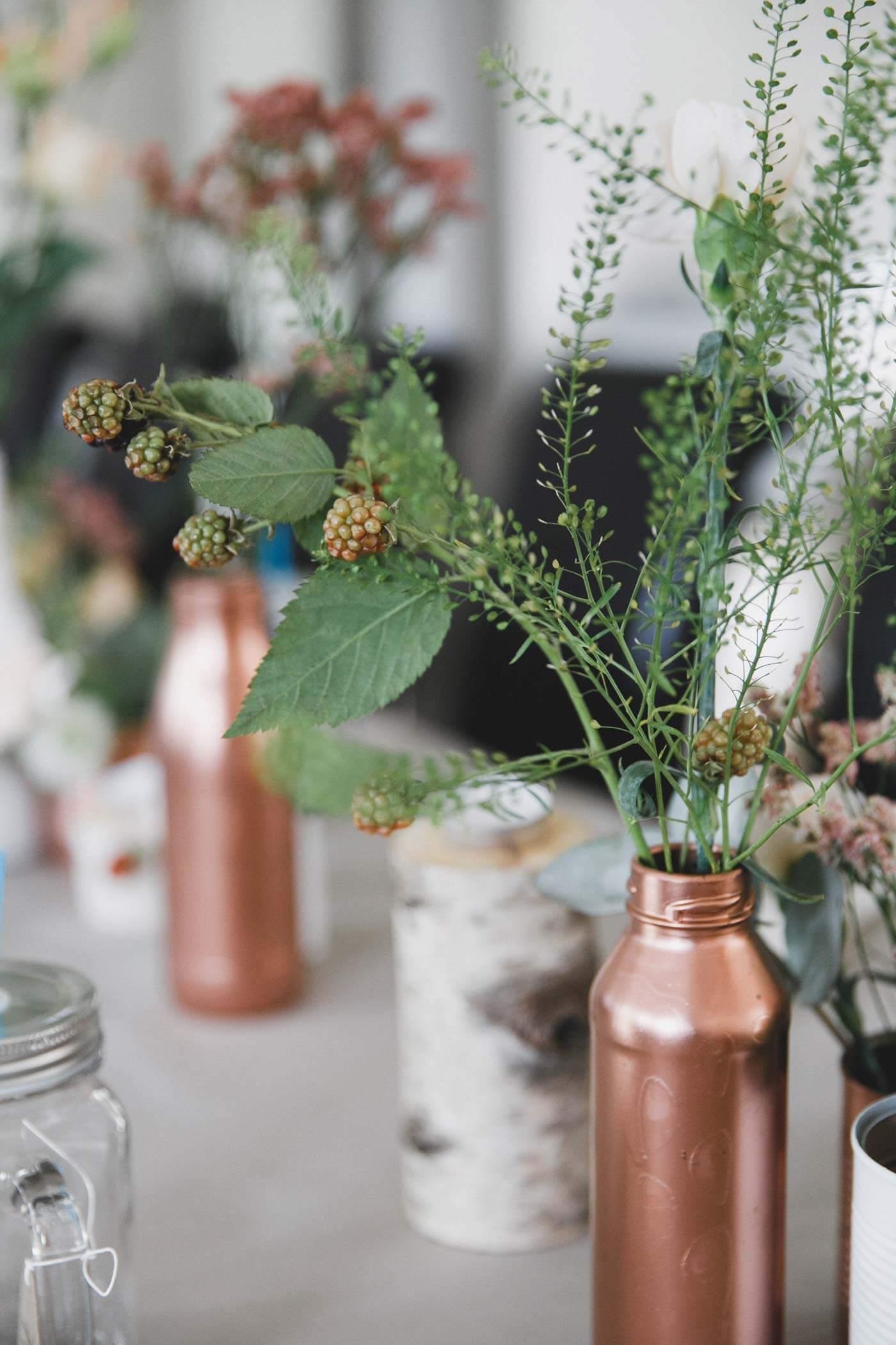 Kupfer Deko Hochzeit