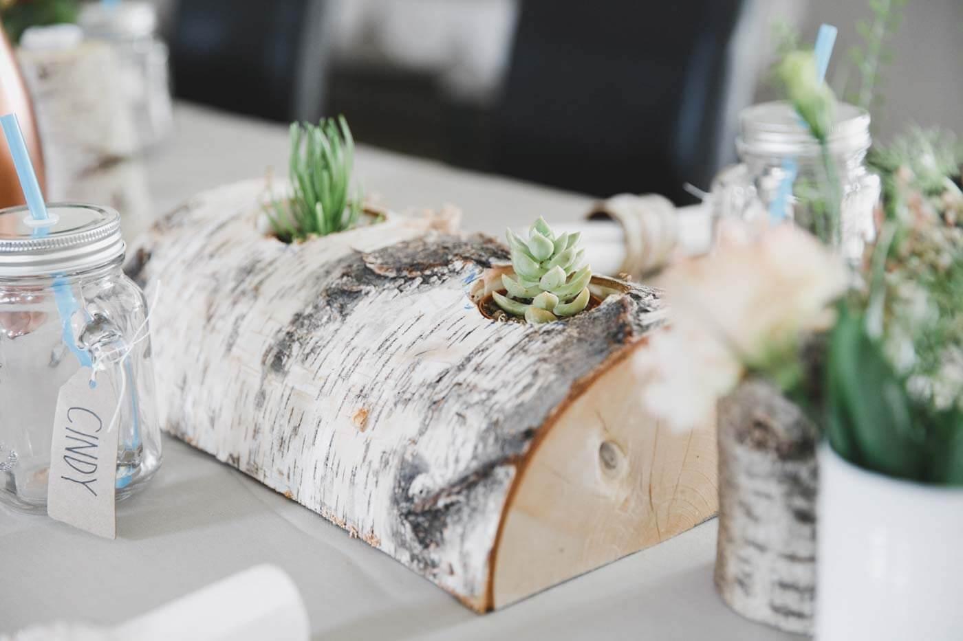 Tischdeko Kaktus