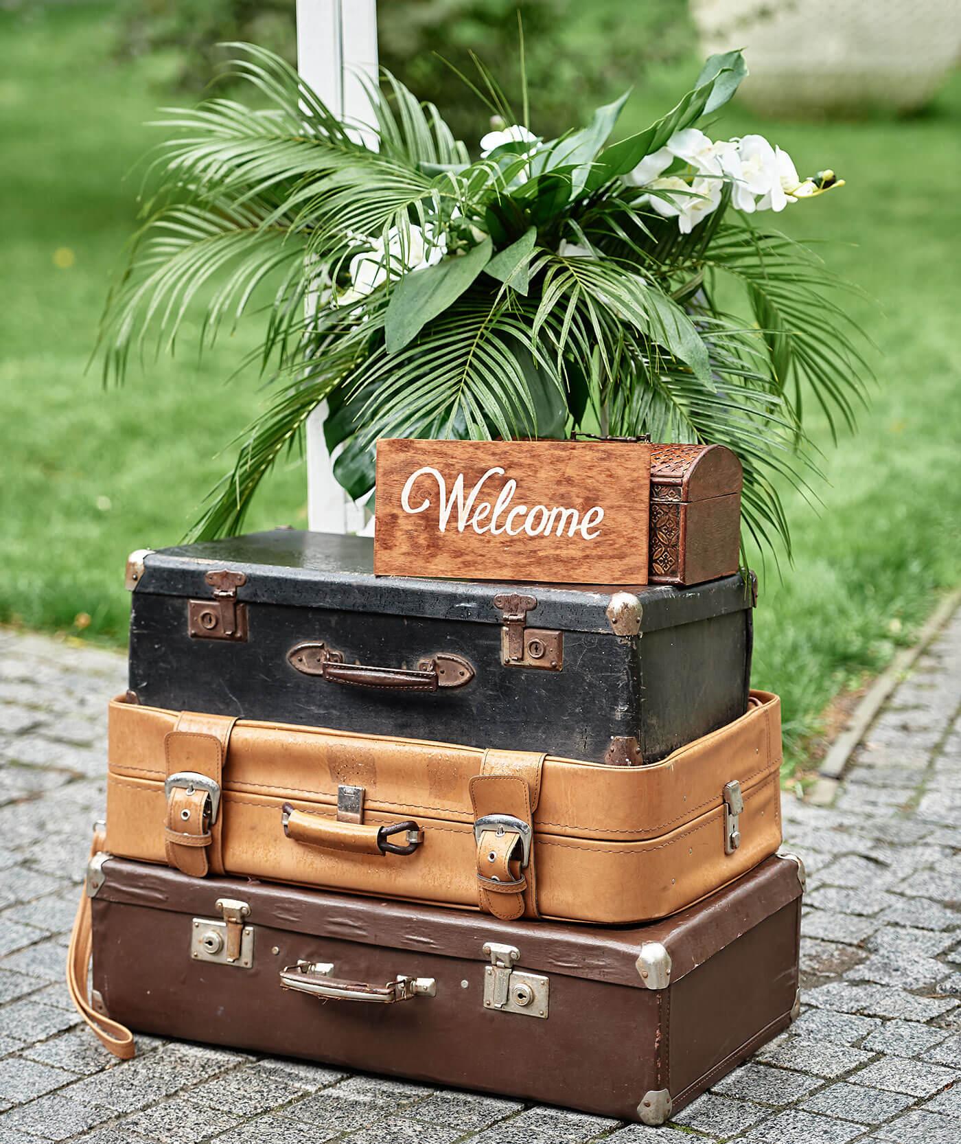 Hochzeit Motto Reise