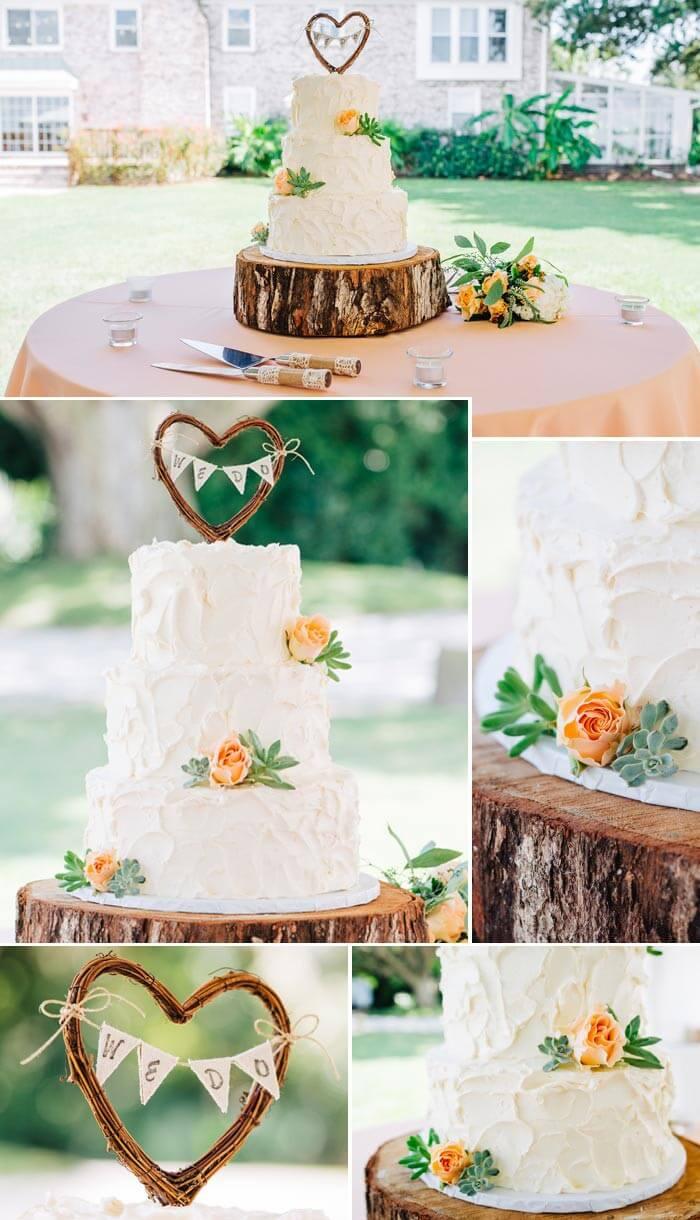 Landhaus Hochzeitstorte