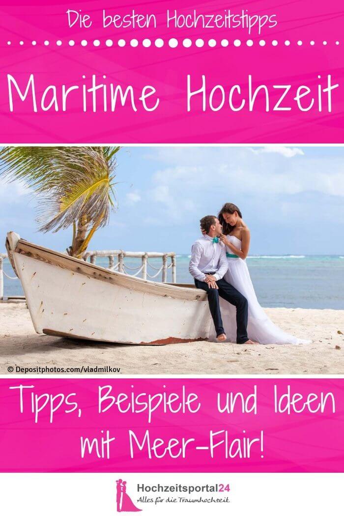 Maritime Hochzeit Ideen