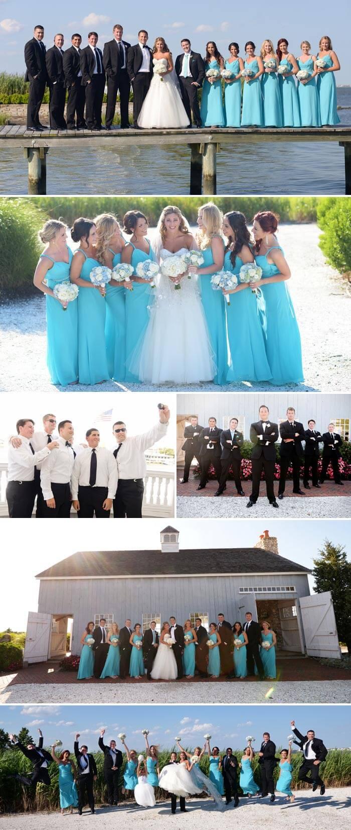 Maritime Hochzeitsgesellschaft