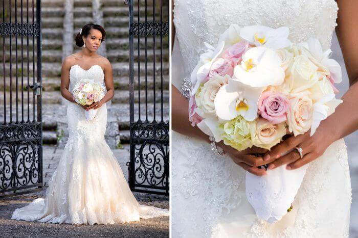 Braut Brautstrauß Hochzeitsshooting