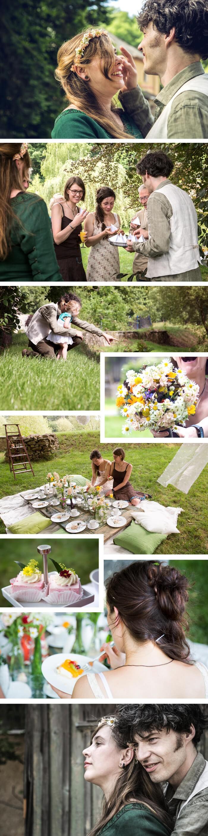 Picknick Hochzeit mit Picknick