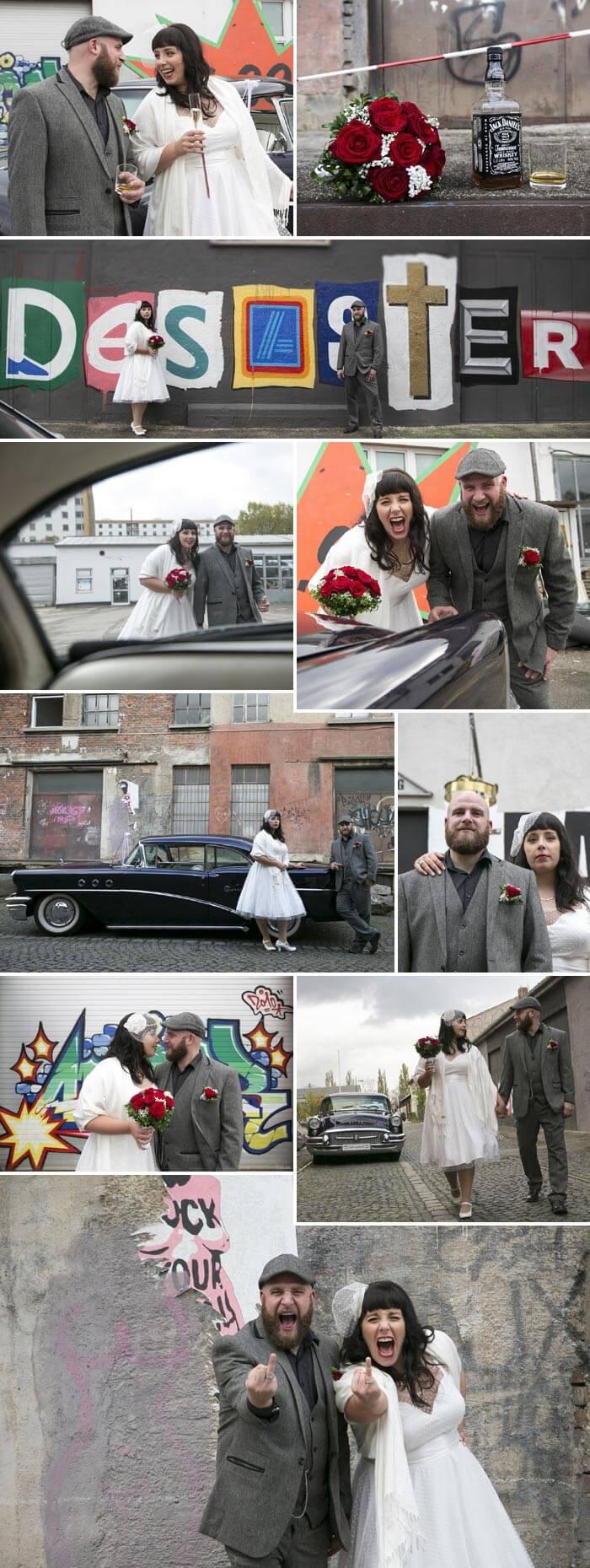 Rockabilly Hochzeit Paarshooting