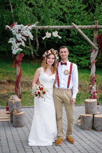 Hochzeit Bogen