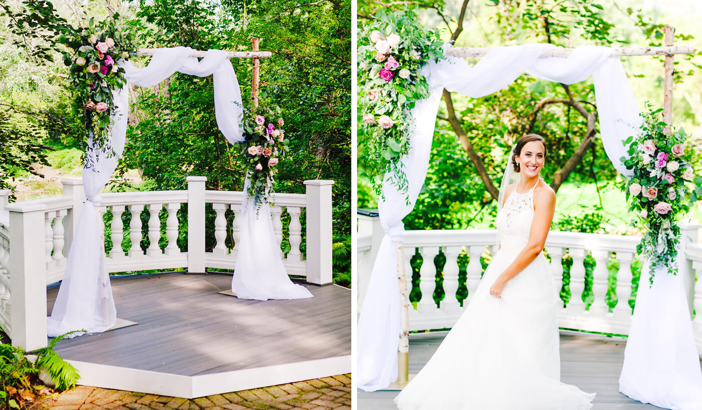 Hochzeitsbogen selber machen