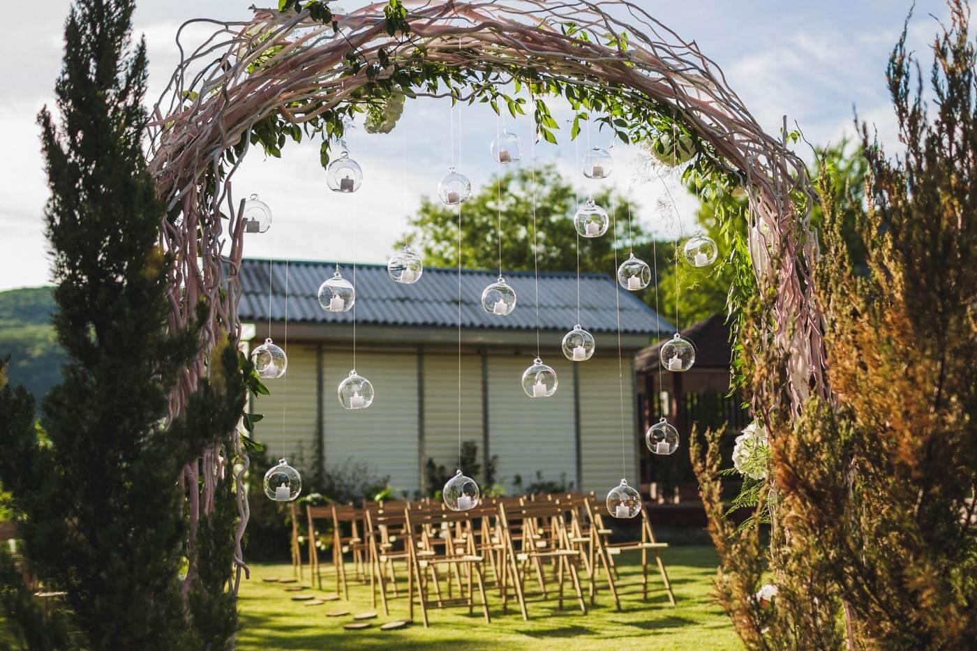 Traubogen Hochzeit