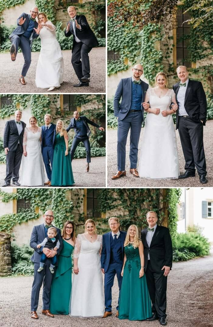 Lustige Familienfotos