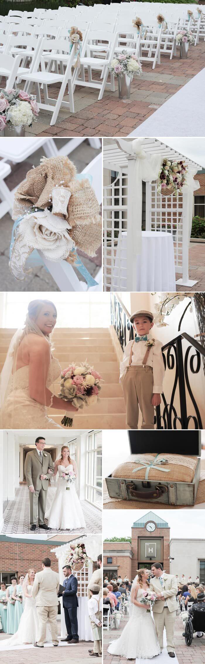 Hochzeit im Vintage Stil