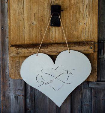 Hochzeitslogo Herz