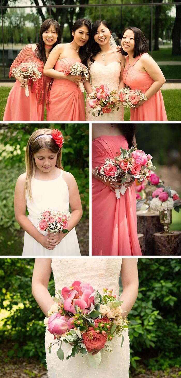 Rosenbogen für Hochzeit