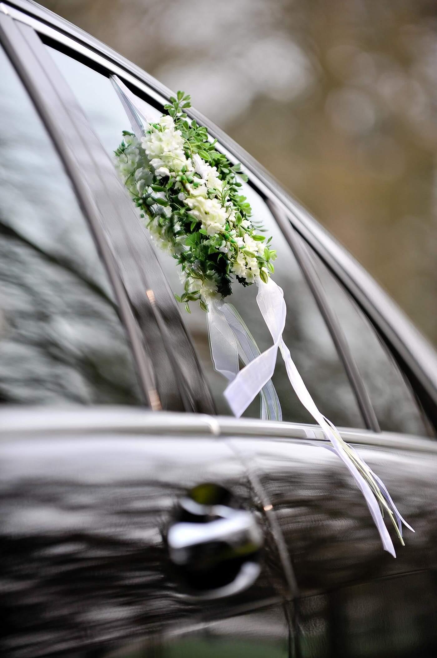 Autodeko zur Hochzeit: Autoschmuck bestellen