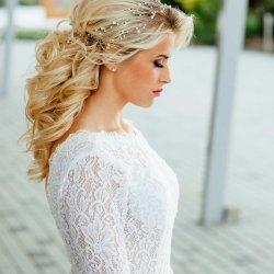 Haarkette Hochzeit