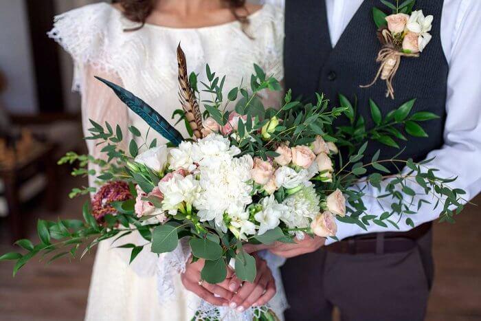 Brautstrauß Boho