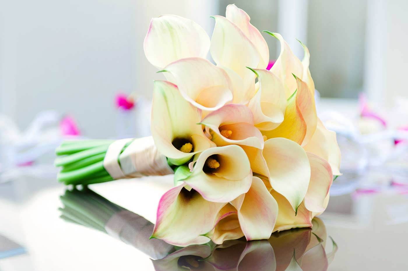 Brautstrauß Callas
