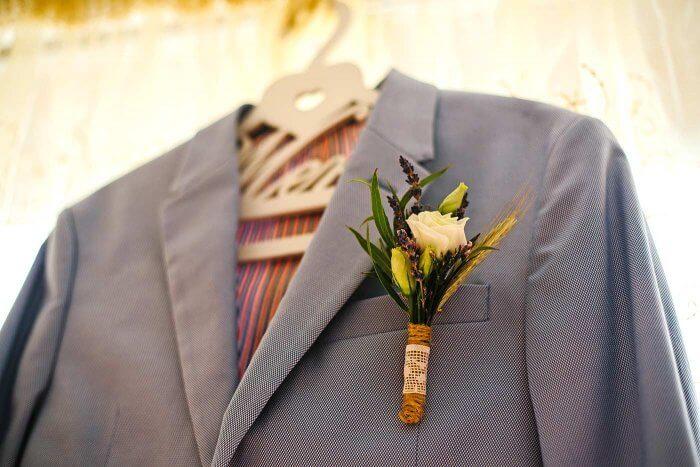 Blumenanstecker Hochzeit