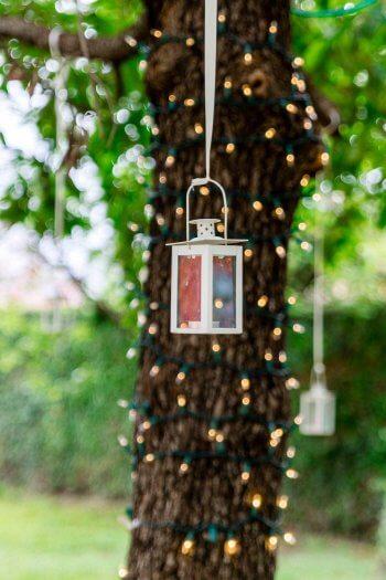 Baum Lichterkette