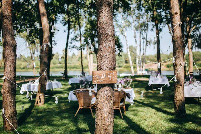 Baumdeko Hochzeit