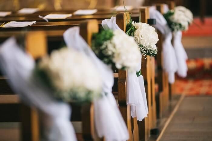 Hochzeit Dekoration Kirche