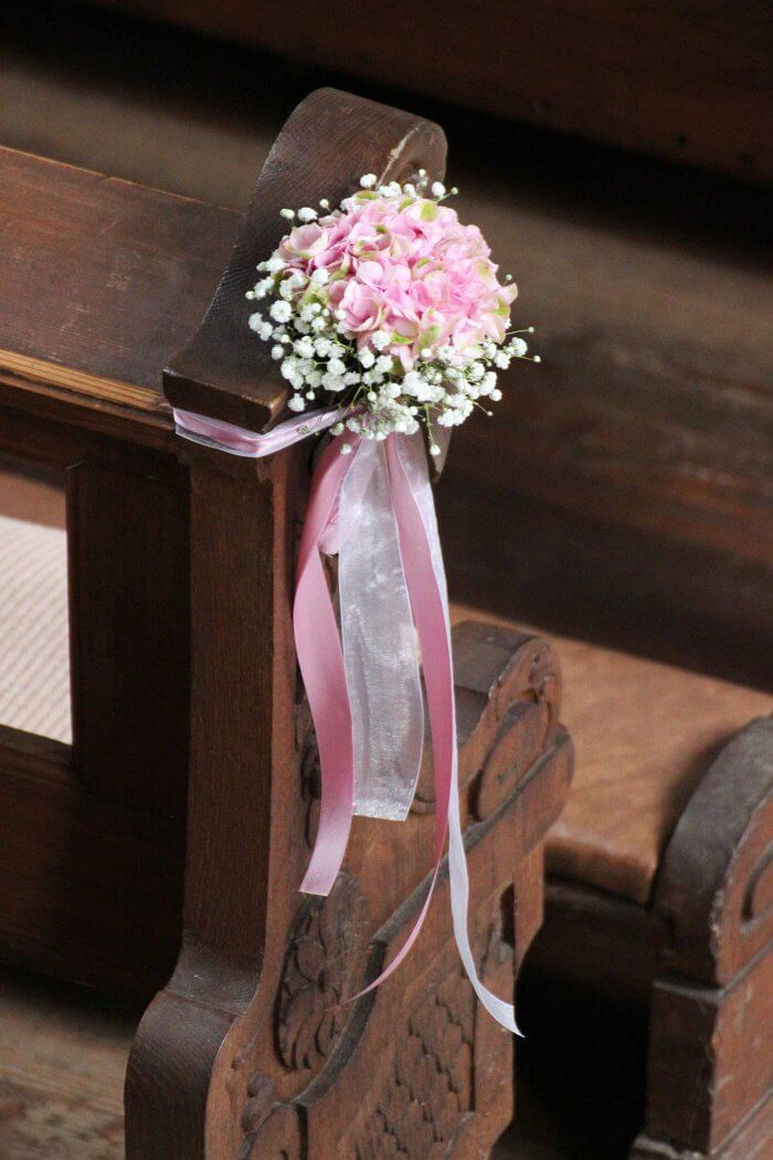 Hochzeit Kirchendeko