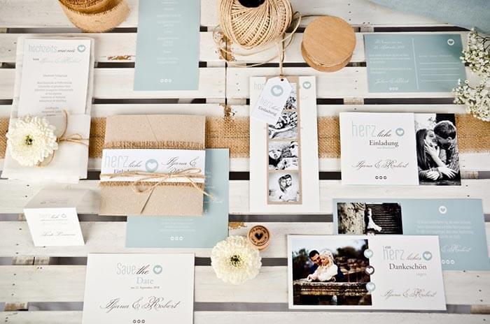 Hochzeitseinladungen Karten