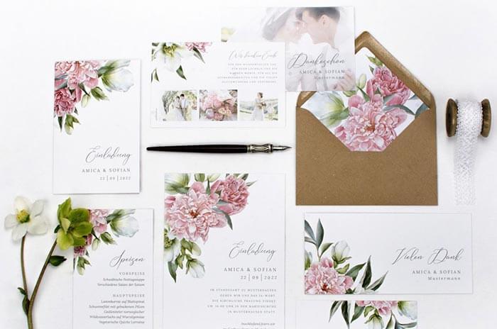 Hochzeitskarten bestellen