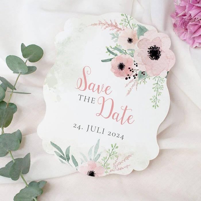 Save the Date Karten Hochzeit
