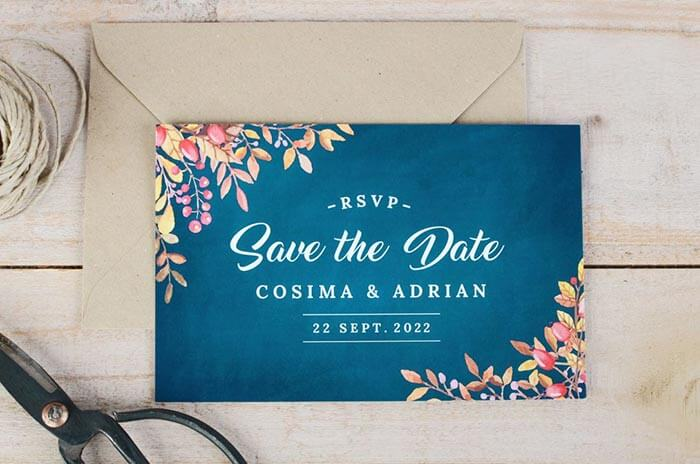 Save the Date Vorlage