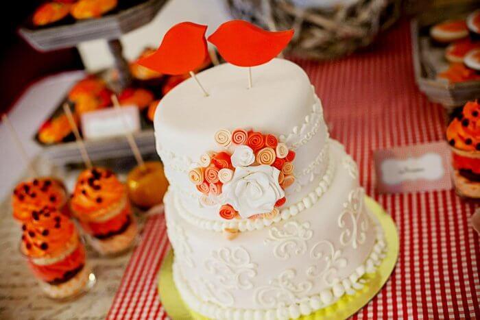 Topper Hochzeitstorte