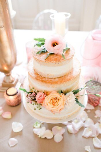 Naked Cake Hochzeitstorte
