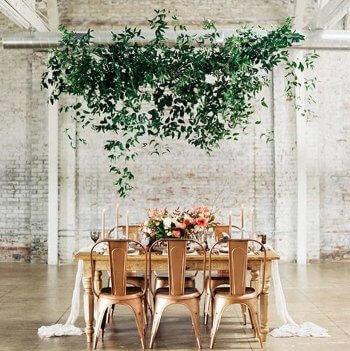 Eukalyptus Girlande zur Hochzeit