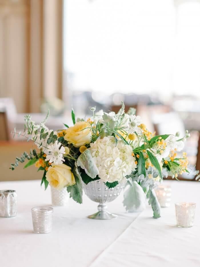 Hochzeit Blumengesteck