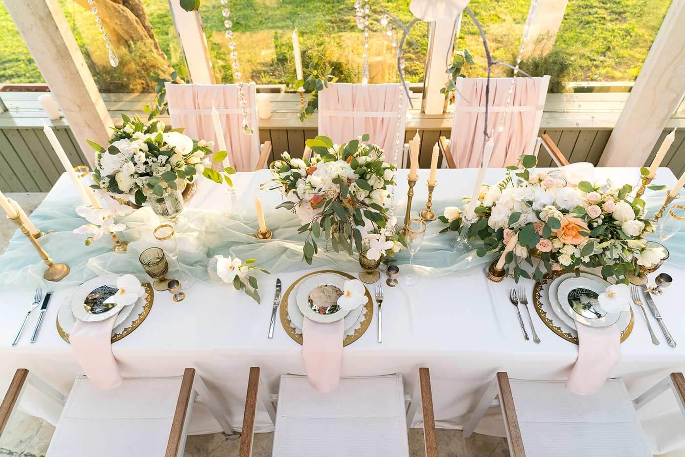 Hochzeitsdeko Frühling