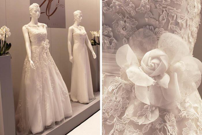 Brautkleid lang von Fashion New York