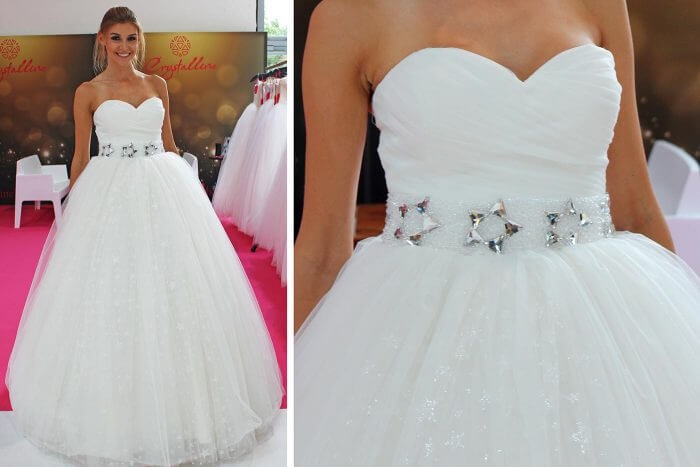 Hochzeitskleider, Marke Crystalline